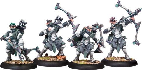 Warmachine: (Retribution Of Scyrah) Stormfall Archers