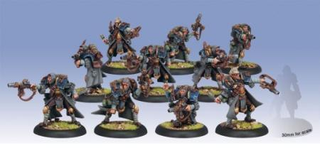 Warmachine: (Cygnar) Trencher Commandos (10)