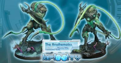 Infinity (#220) Combined Army:  The Anathematics (Plasma Rifle) (1)
