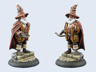 28mm Discworld Miniatures: Mustrum Ridcully