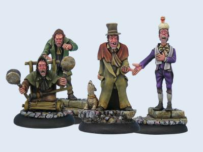 28mm Discworld Miniatures: The Canting Crew (5)