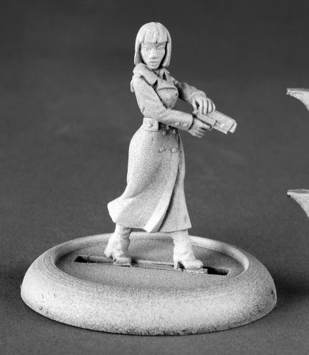 Chronoscope - Noir: Astrid Berger, Female Spy