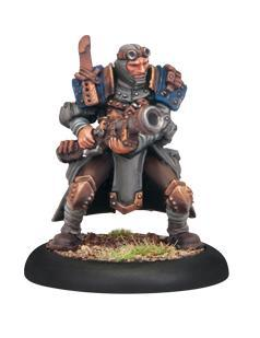 Warmachine: (Cygnar) Trencher Commando Scattergun