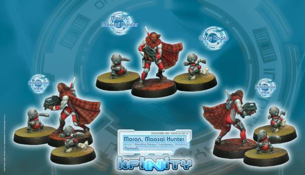 Infinity (#216) Nomads: Moran, Maasai Hunter (Boarding Shotgun, CrazyKoalas) (3)