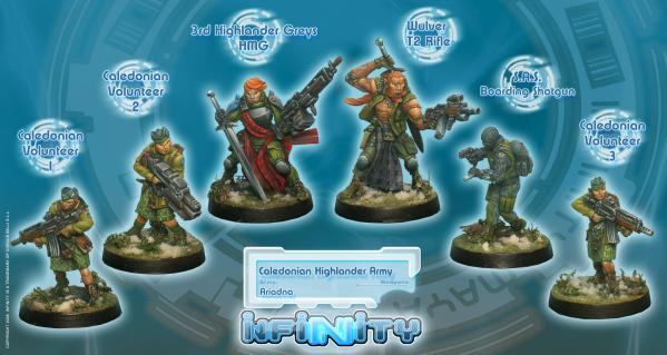 Infinity (#224) Ariadna: Caledonian Highlander Army (Ariadna Sectorial Starter Pack) (6)