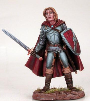 Male Fighter w/Sword & Shield