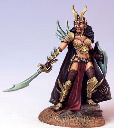 Visions In Fantasy: Female Anti-Paladin w/Sword & Shield