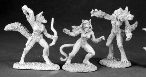 Dark Heaven Legends Classics: Female Lycanthropes (3)