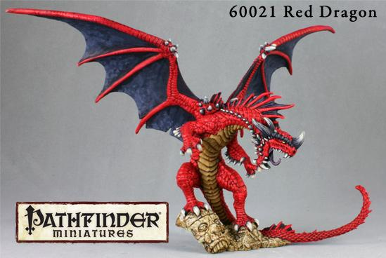 Pathfinder Miniatures: Red Dragon