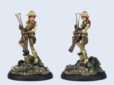 Wolsung Miniatures: Harriet Kinsley (1)