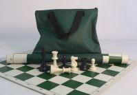 Tournament Chess Series: Green Canvas Bag w/Handle (Bag Alone)