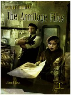 Trail of Cthulhu RPG: Armitage Files