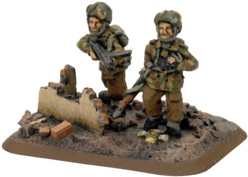 Flames of War - British: Lt. Colonel Frost and Para Commanders