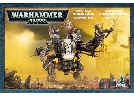 Warhammer 40K: Ork Deff Dread Box Set