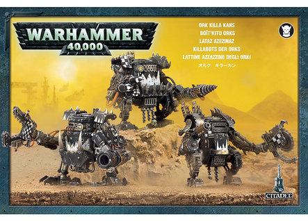 Warhammer 40K: Ork Killa Kans Box Set