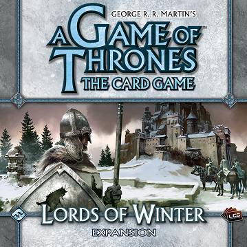 A Game of Thrones LCG: Lords of Winter Expansion Box Set