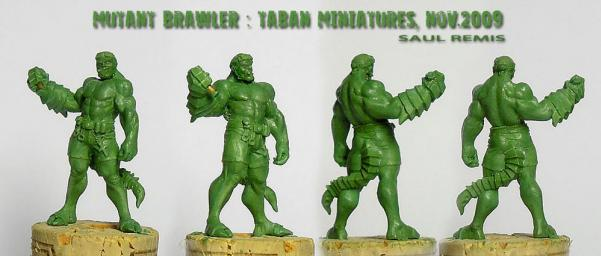 Post-Apocalypse 32mm: Mutant Brawler