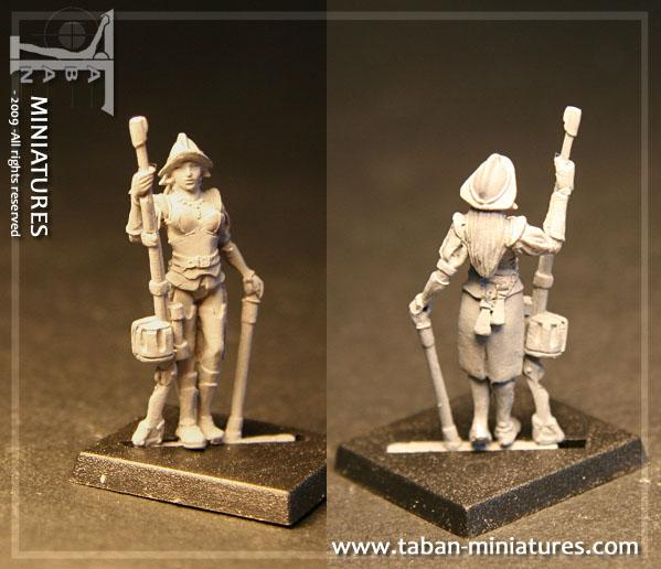 Fantasy 32mm: Elite Elf Handgunner