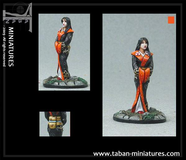 Fantasy 32mm: Meiko the geisha