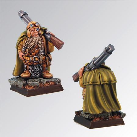 28mm Fantasy Miniatures: Bromor Hunter