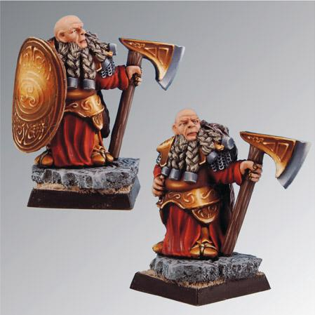 28mm Fantasy Miniatures: Angus Dwarf Lord