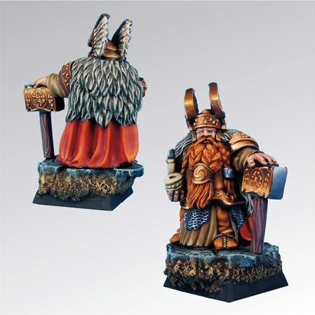 28mm Fantasy Miniatures: Baldur Dwarf Lord