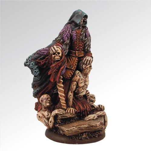 54mm Fantasy Miniatures: Mantus the Necromancer