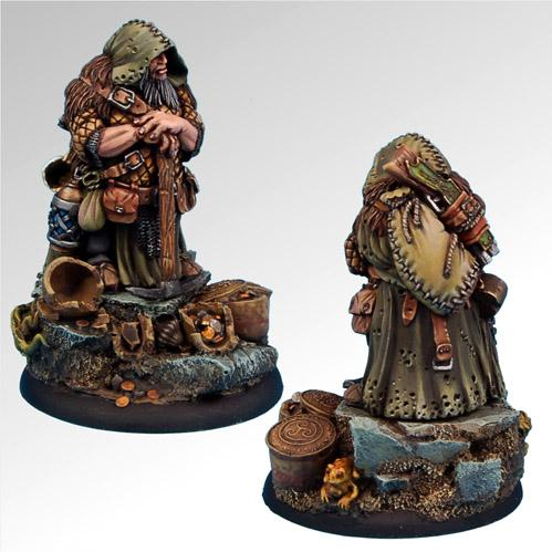54mm Fantasy Miniatures: Barburkir von Kiloff