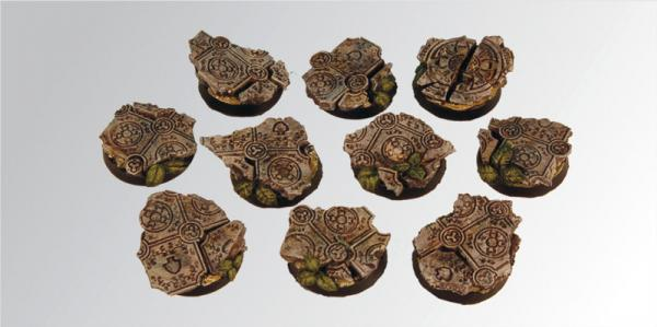 Round Bases: Ruins 25 mm (5)