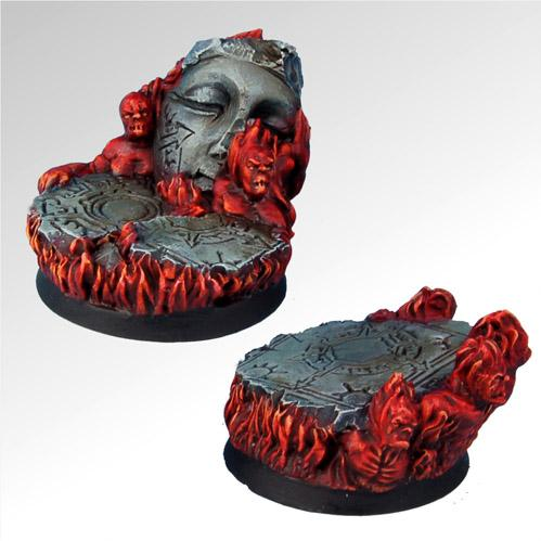 Round Bases: Straight From Hell 40mm Set 1 (2)