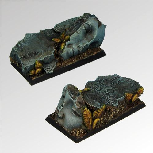 Square Bases: Ancient Ruins 25mm / 50mm (2)