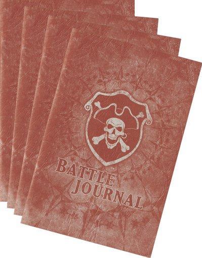Warmachine/Hordes Battle Journal Kit (4 Journals)