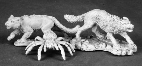 Dark Heaven Legends Classics: Animal Companions 2 (Wolf, Cat, Spider)