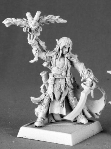 Pathfinder Miniatures: Seltyiel, Iconic Eldritch Knight