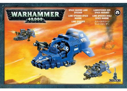 Warhammer 40K: Space Marine Land Speeder Box Set