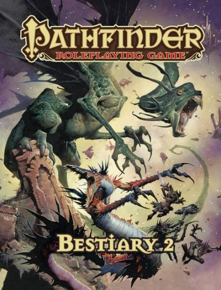 Pathfinder RPG: Bestiary 2 (HC)