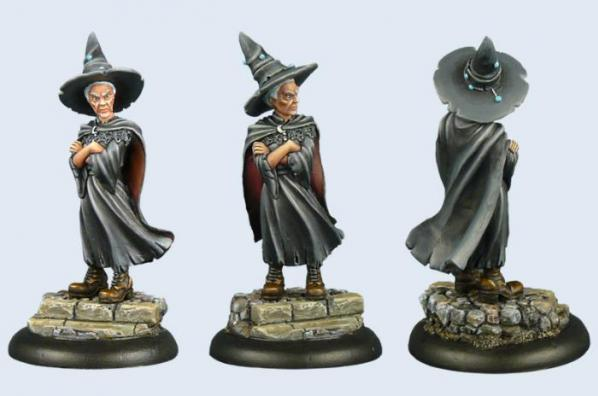 28mm Discworld Miniatures: Esme Weatherwax (1)