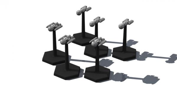 Traveller Miniatures: Imperial Escorts Pack (6)