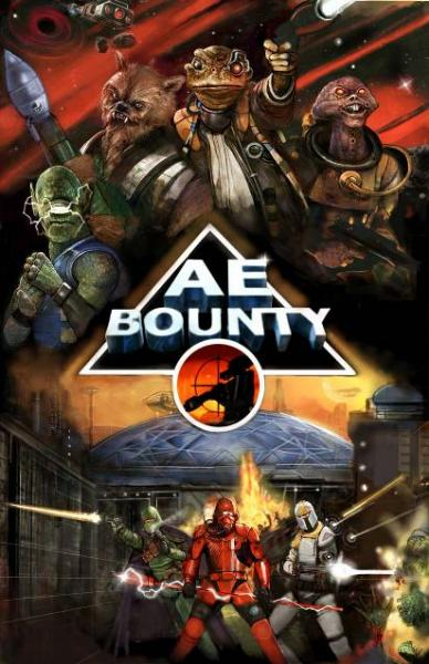 AE-Bounty: Alien Encounters Bounty Core Rulebook