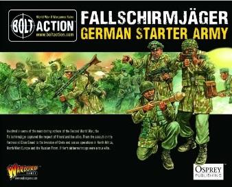 (German) Fallschirmjager (Plastic)
