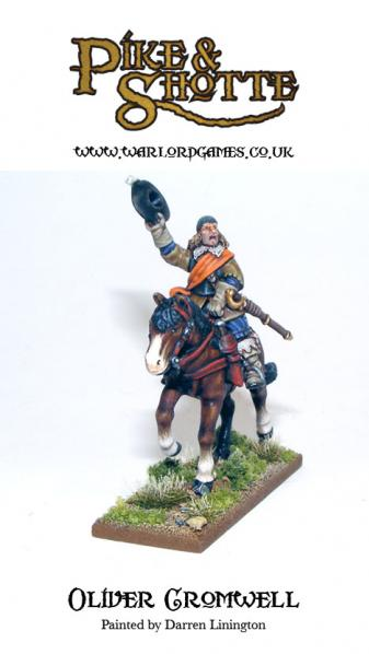 28mm Pike & Shotte: Oliver Cromwell