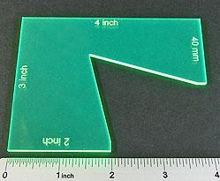 Gaming Template: DBx Notch Gauge (Fluorescent Green)