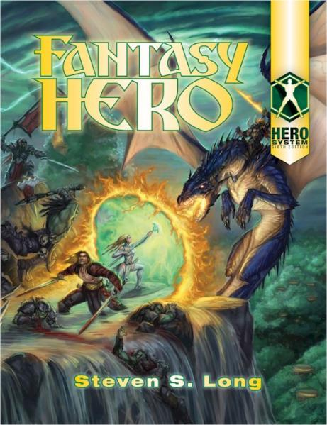 HERO System 6th Edition: Fantasy Hero (HC)