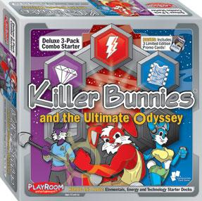 Killer Bunnies Odyssey: 3-Pack Combo Starter Deck - Heroic and Azoic