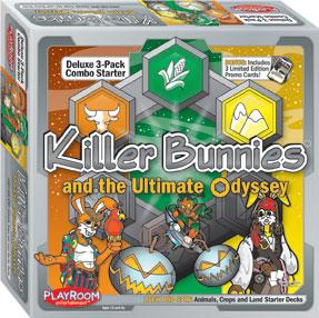 Killer Bunnies: Odyssey 3-Pack Combo Starter Deck - Lively and Spry