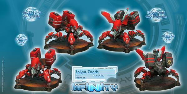 Infinity (#231) Nomads: Salyut Zonds (EVO Repeater Combi Rifle) (2)
