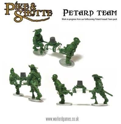 28mm Pike & Shotte: Pike & Shotte Petard Team (7)