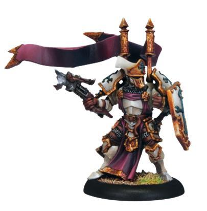 Warmachine (The Protectorate Of Menoth) Exemplar Errant Seneschal