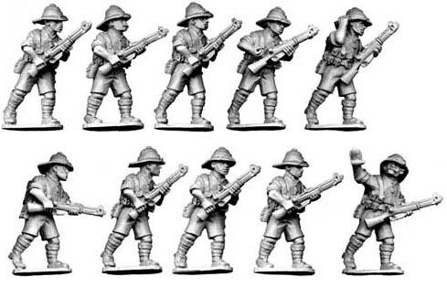 28mm Historical: British Infantry (10)