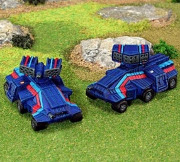 BattleTech Miniatures: Bolla Stealth Tank (Jihad Hot Spots 3076)